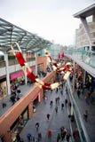 Centre commercial de John Lewis à Liverpool Photos stock
