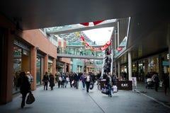 Centre commercial de John Lewis à Liverpool Photo stock
