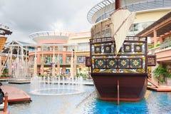 Centre commercial de Jungceylon en plage de Patong Photographie stock libre de droits