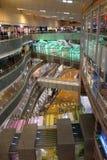 Centre commercial de luxe à Changhaï Image libre de droits