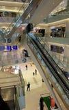 Centre commercial de luxe dans Pékin Images stock