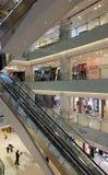Centre commercial de luxe dans Pékin Photos stock