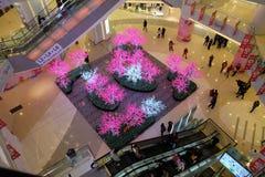 Centre commercial de luxe dans Pékin Image stock