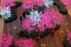 Centre commercial de luxe dans Pékin Photographie stock libre de droits