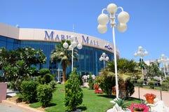 Centre commercial de mail d'Abu Dhabi Marina Image stock