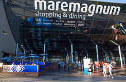 Centre commercial de Mare Magnum, Barcelone photographie stock