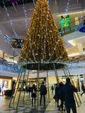 Centre commercial de panorama de Vilnius image stock
