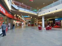 Centre commercial de plaza de mamie Tavira Image libre de droits