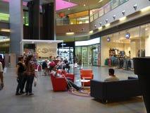 Centre commercial de plaza de mamie Tavira Photo libre de droits