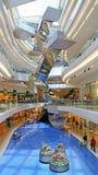 Centre commercial de promenade de festival, Hong Kong Images libres de droits