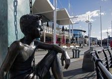 Centre commercial de quais de Gunwharf Portsmouth Photo libre de droits