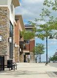 Centre commercial extérieur Photos libres de droits