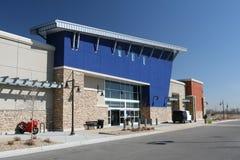 Centre commercial extérieur Photos stock