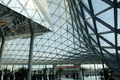 Centre commercial futuriste Photo stock