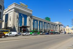 Centre commercial Grinvich à Iekaterinbourg Russie Image stock