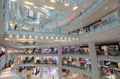 Centre commercial Kuala Lumpur Malaysia images stock