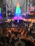Centre commercial le lendemain de Noël Photographie stock