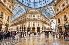 Centre commercial Milan Photos stock