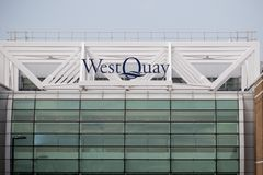 Centre commercial occidental de Quay, Southampton, R-U Photo stock