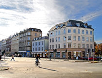 Centre of Copenhagen, Denmark Stock Images