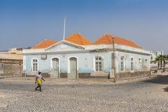 Centre culturel de Boa Vista dans le sel Rei photographie stock libre de droits