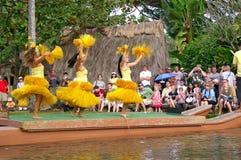 Centre culturel polynésien Photos libres de droits