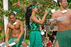 Centre culturel polynésien Image stock