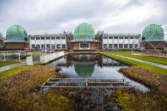 Centre d'éducation royal de la Science de Herstmonceaux d'observatoire, le Sussex est, Angleterre photos libres de droits