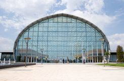 Centre d'événement de Valence de Feria Photographie stock libre de droits