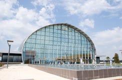 Centre d'événement de Valence de Feria Photos libres de droits
