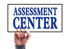 Centre d'évaluation Photo libre de droits
