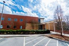 Centre d'accueil à l'université de Carolina School du nord de Photo stock