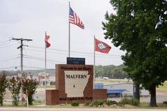 Centre d'accueil de Malvern Arkansas images stock