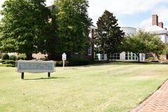 Centre d'accueil de premier d'état de Douvres parc d'héritage image stock