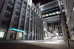 Centre d'affaires de ville Images libres de droits