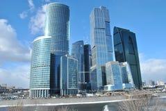 Centre d'affaires de ville de Moscou Photos stock