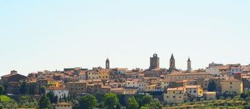 Centre d'Arezzo Photos libres de droits