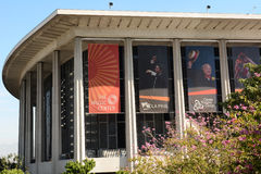 Centre d'arts du spectacle de Los Angeles Image stock