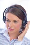 Centre d'attention téléphonique Image libre de droits