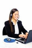 Centre d'attention téléphonique de service SVP Photo stock