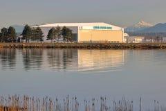 Centre d'aviation du ` s Londres de Vancouver Photo libre de droits
