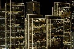 Centre d'Embarcadero avec des effets d'éclairage rasant photos libres de droits