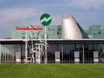 Centre d'exposition commercial de FieraMilano, Milan, Italie Images stock