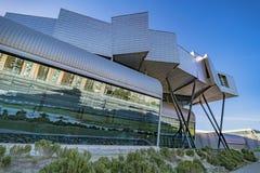 Centre d'exposition, de congrès et de foires commerciales à Malaga, Espagne Photo stock