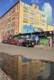 Centre de 5 arts de Pointz Aerosal, NY Image stock