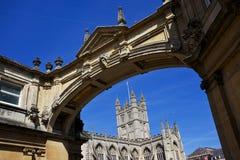Centre de Bath Photos stock