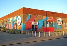 Centre de bowling de goupille d'AMF dix Photographie stock libre de droits