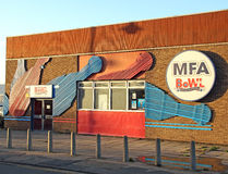 Centre de bowling de goupille d'AMF dix Photos stock
