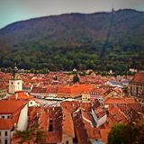 Centre de Brasov Photo stock
