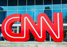 Centre de CNN à Atlanta Image libre de droits